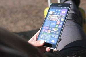 Holding on Lumia 1520