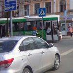 В сети появилось видео момента аварии с 11-м автобусом
