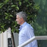 Manchester United manager Mourinho arrives at Carrington