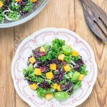 Juicy Kale & Butternut Squash Salad