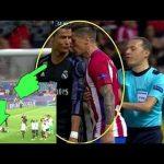Insiden Saat Atletico Madrid Vs Real Madrid Ini Balasan Ronaldo Atas Sikap Torres