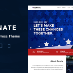 Senate – Politic, Senator and Election Campaign WordPress Theme